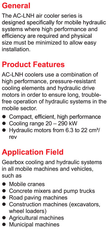 Air Cooler Mobile AC-LNH 8-14 with Hydraulic Motor – Leader